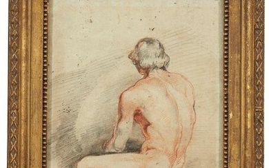 French School, early/mid 19th century- Male nude...