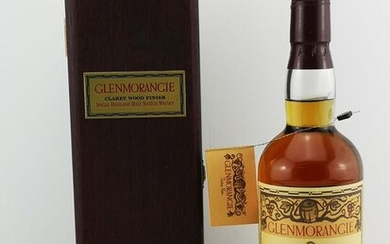Glenmorangie 1976-1979 - Claret Wood Finish - Original bottling - 70cl