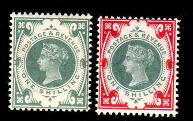 Great Britain 1887 - Queen Victoria - Jubilee issue - Stanley Gibbons NN. 197/214
