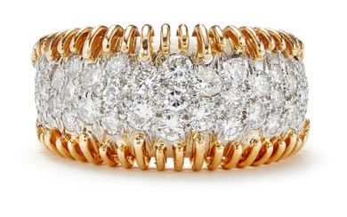 Hammerman Brothers, A Diamond and Gold Ring