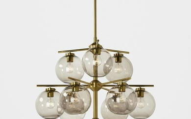 Holger Johansson, chandelier and two sconces