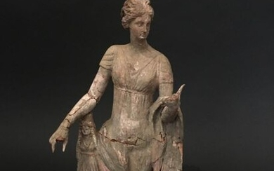 Large votive statuette Greek