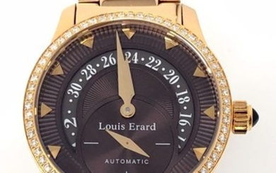 Louis Erard - Emotion Collection Automatic Diamond Watch Rose Gold - 92600PS13.BMA46 - Women - BRAND NEW