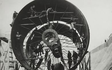 Margaret Bourke-White, Steel Liner for Diversion Tunnel