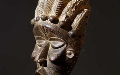 Mask - Wood - Bassa - Ivory Coast