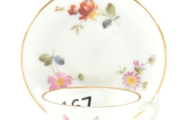 Miniature Cup & Saucer, Royal Crown Derby