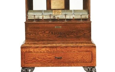PETER MANUFACTURING COMPANY COIN-OPERATED CIGAR VENDING