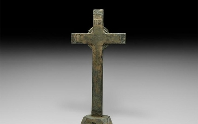 Post Medieval Altar Cross with INRI