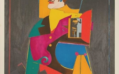 Richard Lindner, The Heart, Lithograph