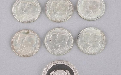 SILVER COINS - GREECE & UNITED NATIONS