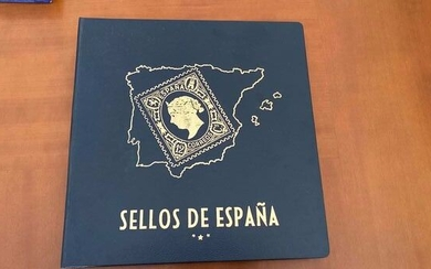 Spain 1950/1972 - Stamp collection in album