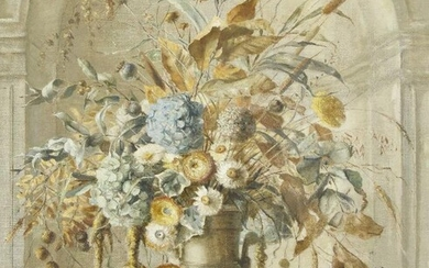 Terence Loudon, British 1900-1949- Still life of...