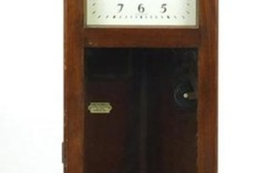 Vintage National electric wall hanging clock, the dial