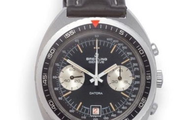 A Stainless Steel Calendar Chronograph Wristwatch, signed Breitling, Geneve, model:...