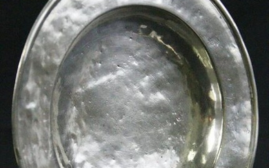 19th CENTURY SPANISH COLONIAL SILVER BOWL