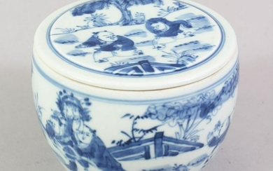 A GOOD 18TH / 19TH CENTURY CHINESE BLUE & WHITE