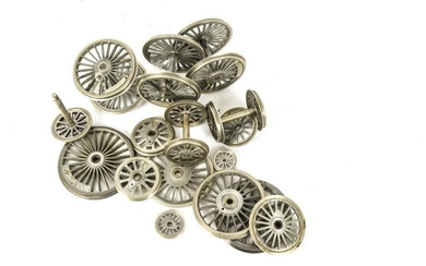 A Group of Beeson-made Locomotive Wheels in 7mm and...