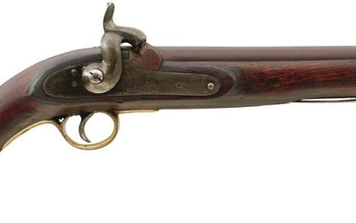 AN EAST INDIA COMPANY PERCUSSION SERVICE PISTOL, 9 inch