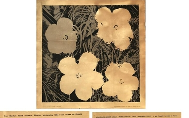 Andy Warhol - Flowers P.P.-1964