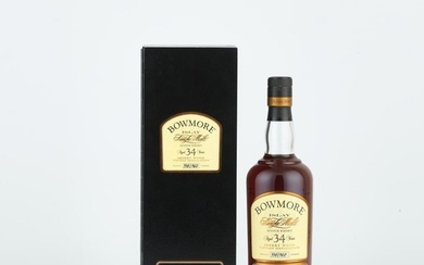 Bowmore Aged 34 Years Sherry Wood 1971 (1 BT70)