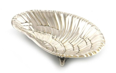 By Tiffany and Co. an American silver dish,...
