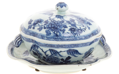 Chinese Export Vegetable Dish/Underplate