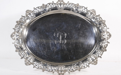 DOMINICK & HAFF SILVER TRAY