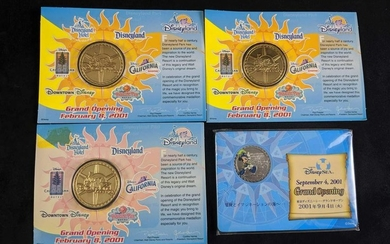 Disney Cast Member Exclusive Coins
