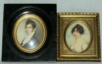 ERNEST DONNELLY REPRODUCTION PORTRAIT MINIATURES
