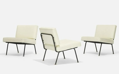 Florence Knoll, lounge chairs model 31, set of three