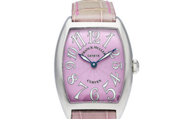 Franck Muller | Curvex, A Lady's Stainless Steel Wristwatch, Circa 2019