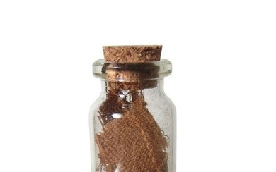 Large bottle of Egyptian linen mummy wrappings