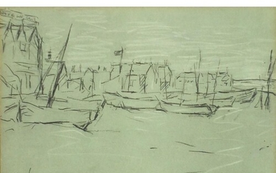 Laurence Stephen Lowry - Deal, ink signed print with embosse...