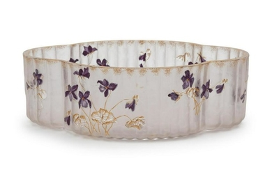 Legras, Attribution France, Early 20th Century Floral