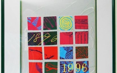 Limited Edition 1996 Olympic Embroidery
