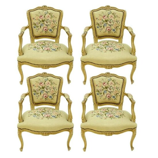 Louis XV Arm Chairs