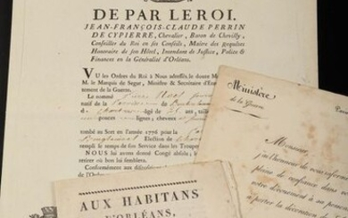 MISCELLANEOUS DOCUMENTS. Large collection of documents, most of them financial...