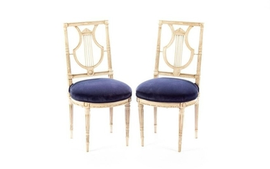 PAIR OF 19TH C. FRENCH SALON CHAIRS
