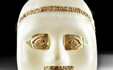 Phoenician Gold Burial Mask Components