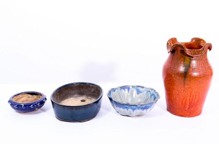 Pottery Vases And Jardinieres, 4
