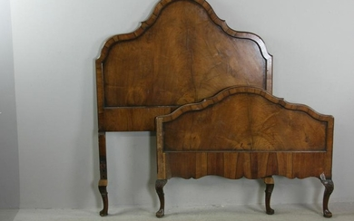 Queen Anne Style Single Bed