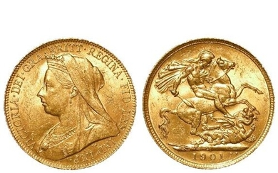 Sovereign 1901P EF