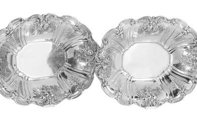 """Two """"Francis I"""" Sterling Center Bowls"""