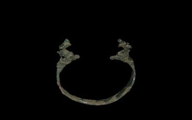 Western Asiatic Bracelet with Animals