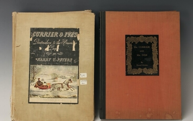2 CURRIER AND IVES BOOKS HC
