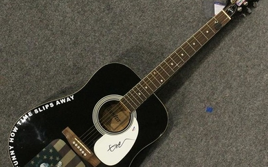WILLIE NELSON Autographed Acoustic Guitar with COA