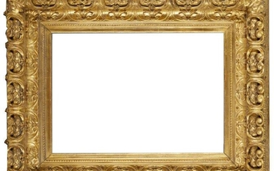 A Bolognese Carved and Gilded Frame, 18th...