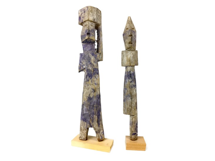 A PAIR OF ASHANTI VOTIVE FIGURES