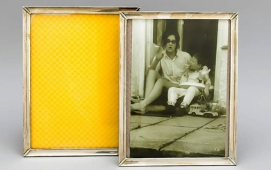 A pair of photo frames, S
