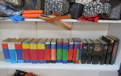 A quantity of J K Rowling Harry Potter books, all 1st editio...